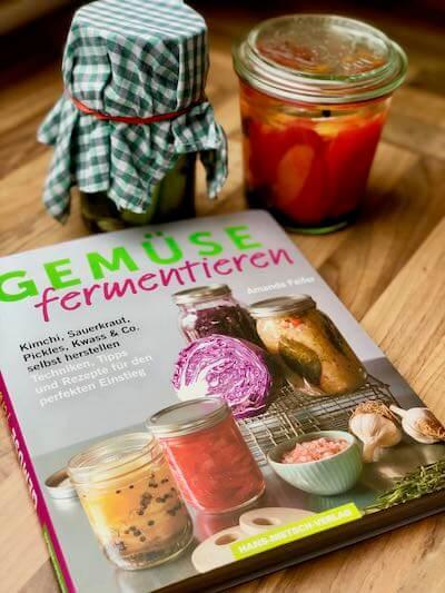 Buchcover Gemüse fermentieren von Amanda Feire