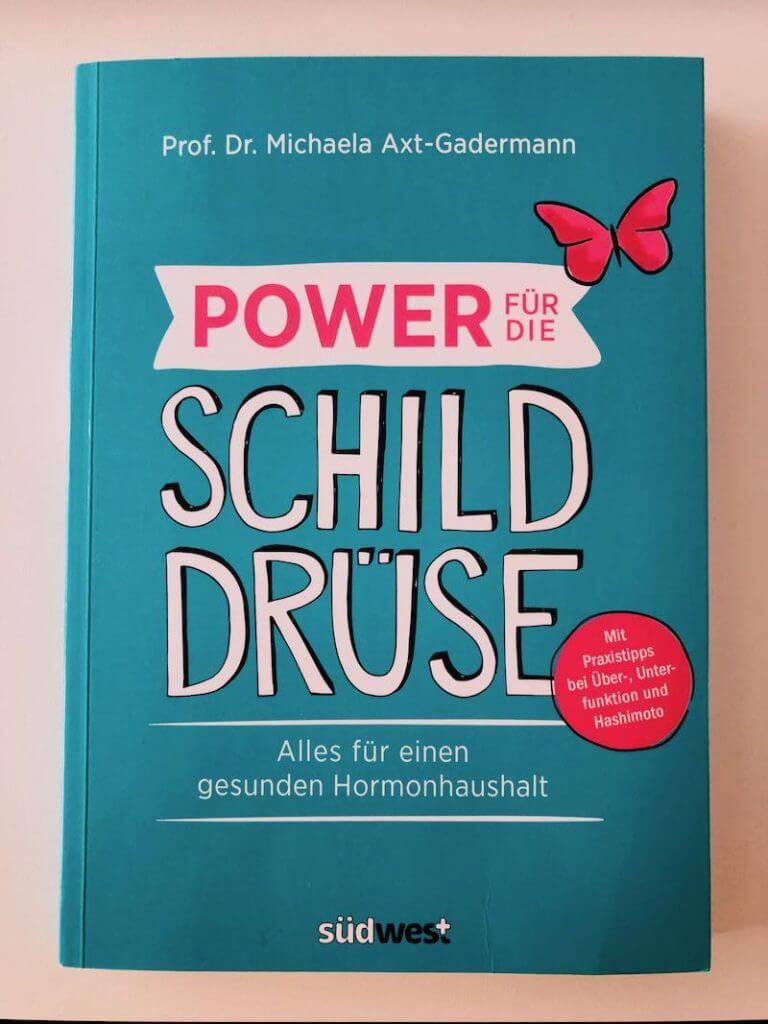Buch Cover Power für die Schilddrüse
