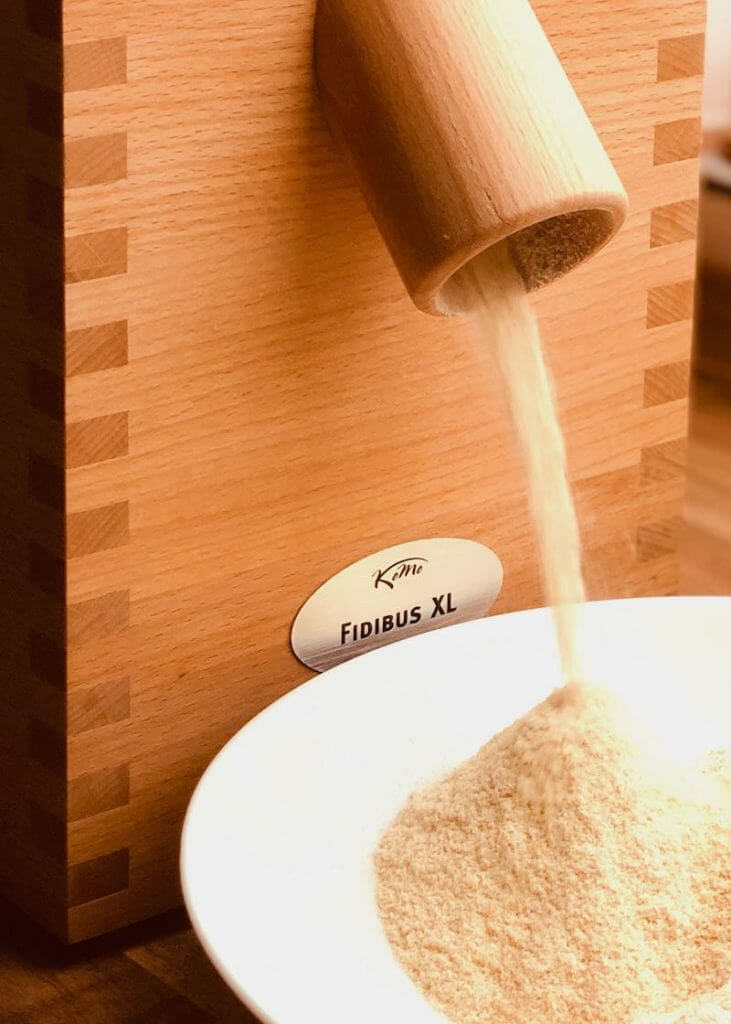 Getreidemühle Fidibus XL im Test